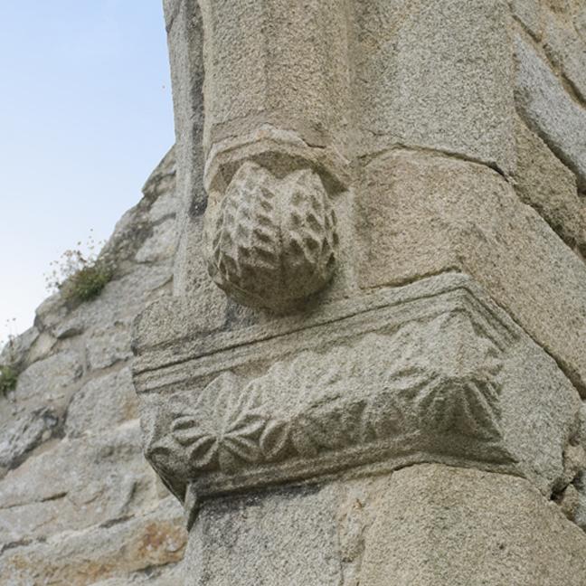 Eglise de Lambour - chapiteau